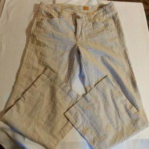 Anthropologie Pilcro & Letterpress Linen Pants 8